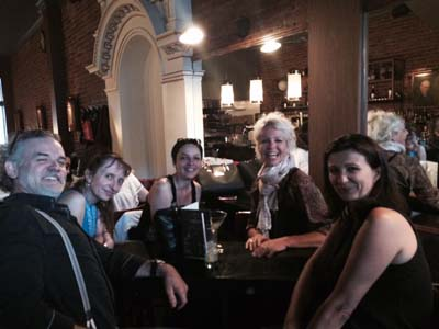 Les savoyards de Montréal lors de leur première réunion 1