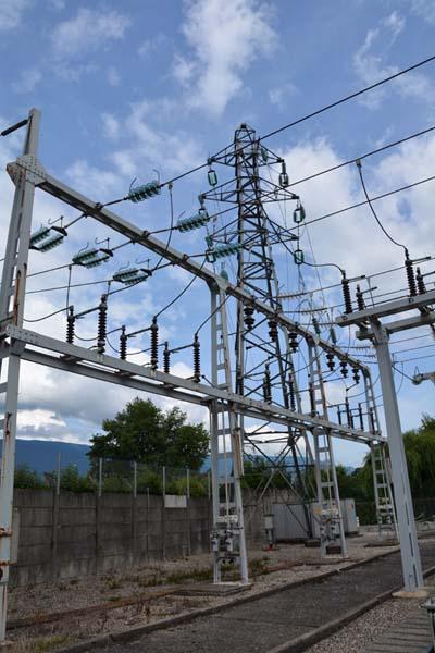 Arrivée en 63.000 volts