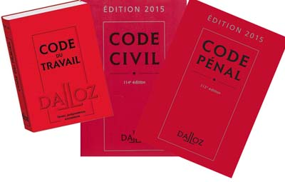 Code civil, pénal...