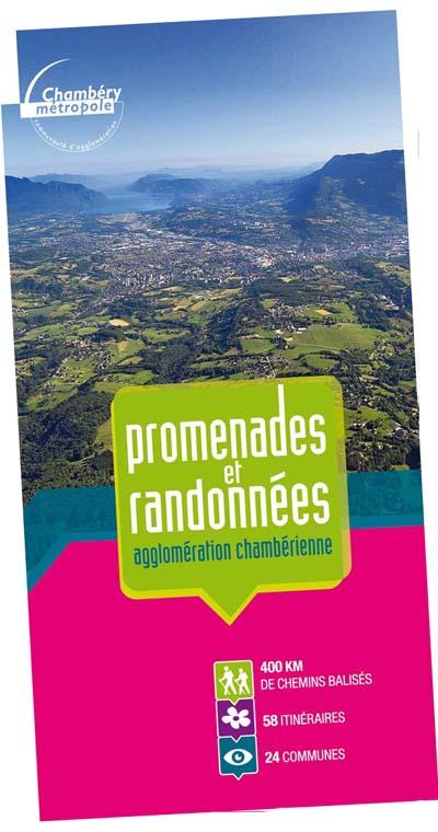 Couverture sentiers Chambéry métropole