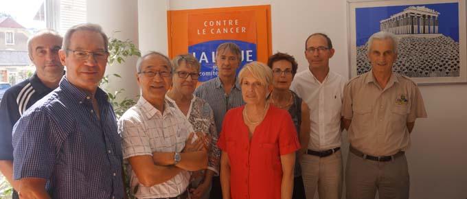 L'Amicale des Véhicules Anciens du Bourget-du-Lac - Bourdeau soutient la Ligue Contre le Cancer