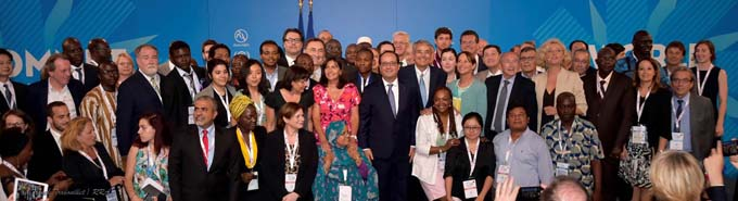 Participants Sommet 1 juillet2015 - © Région Rhône-Alpes