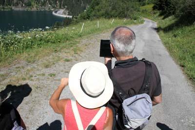 Promenade et découverte du lac de Saint-Guérin