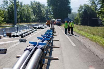 RTE ligne électrique souterraine Savoie-Piémont 2 - © A. Thiebaut
