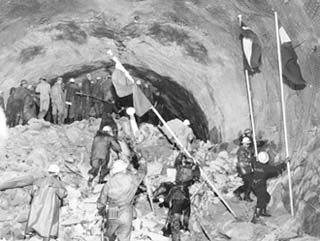 Tunnel du Mont-Blanc 14 août 1962