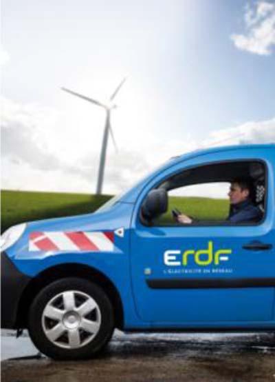 Voiture ERDF