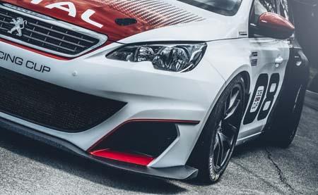 Peugeot 308 Racing Cup 3 - © Automobiles Peugeot