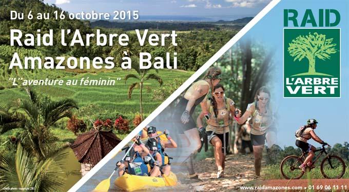 Affiche Raid L'Arbre Vert Amazones