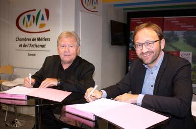 Jacques Berruet et Patrick Mignola