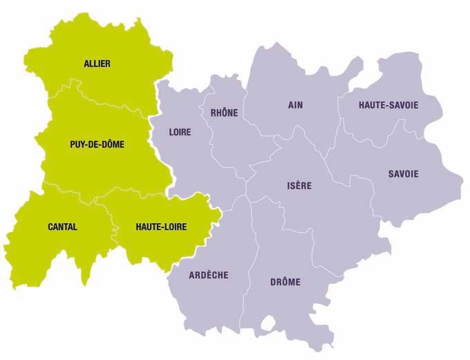 Région Auvergne - Rhône-Alpes