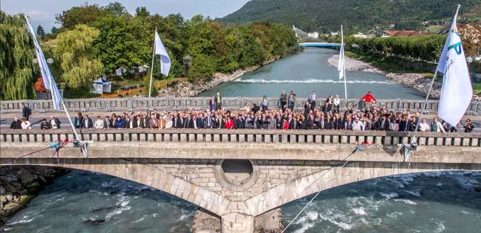 Fête de laRivière - 20 ans après - Photo officielle Pont de l'Europe