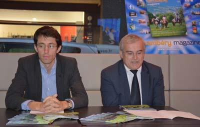 Aloïs Chassot et Michel Dantin