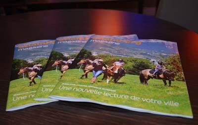 Chambéry magazine nouvelle formule - © Sergio Palumbo - 123 Savoie