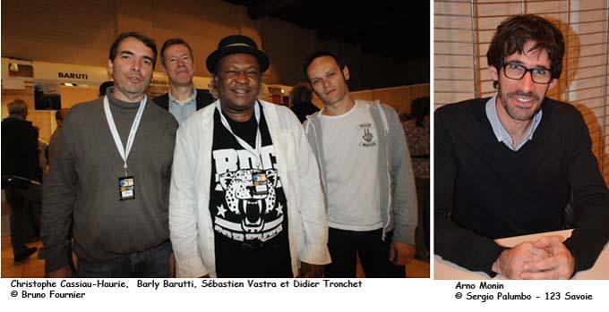 Christophe Cassiau-Haurie, Barly Barutti, Sébastien Vastra, Didier Tronchet - © Bruno Fournier et Arno Monin - © Sergio Palumbo - 123 Savoie