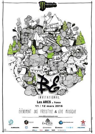 Affiche The B&E Invitational 2016