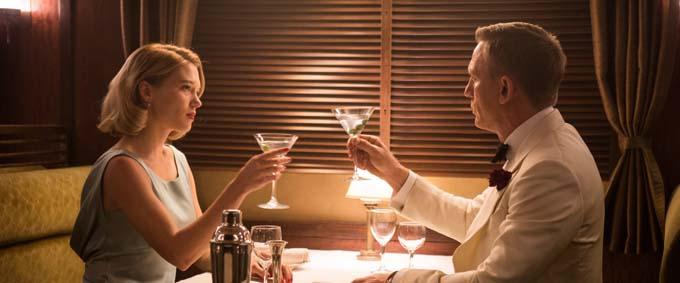 Daniel Craig et Léa Seydoux - © Sony Pictures Releasing GmbH