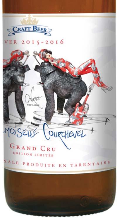 Mademoiselle Courchevel, bière