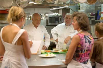 Michel Rochedy et Stéphane Buron - © Eliophot - Cours de cuisine