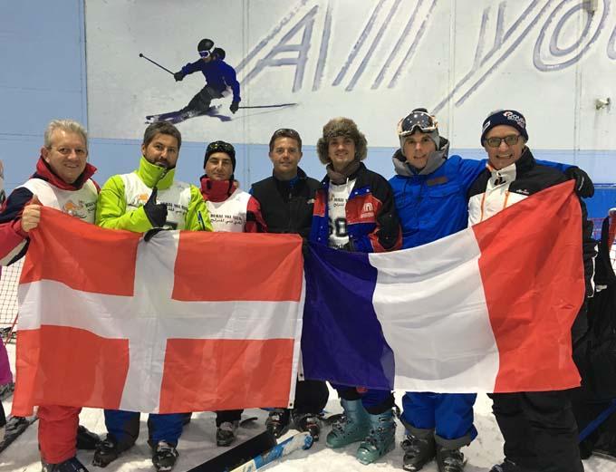 Savoyards à Dubaï - Ski 1