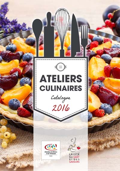 Catalogue Ateliers culinaires 2016