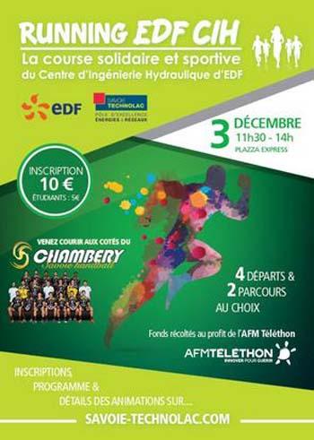 Le Running EDF CIH