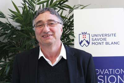 Pascal Bouvier - © Université Savoie Mont Blanc