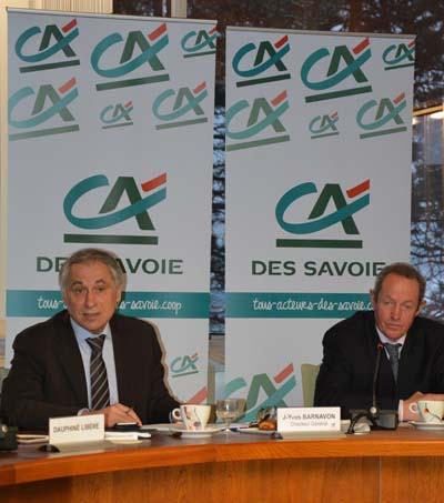 Jean-Yves Barnavon et Claude Chambel - Crédit Agricole des Savoie - © Sergio Palumbo - 123 Savoie