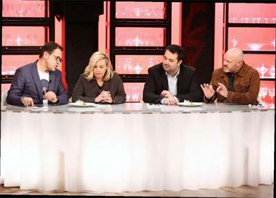 Michel Sarran, Hélène Darroze, Jean-François Piège et Philippe Etchebest - le jury