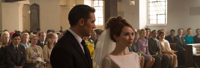 Tom Hardy et Emily Browning - © StudioCanal