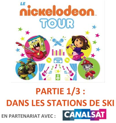 Le Nickelodeon Tour 2016