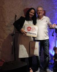 Premier prix Adultes - Severine Hoss avec son gâteau La Savoie en un coup d'aile - Savoyards Emirats