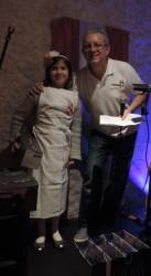 Premier prix Enfants - Josephine Torchio avec son Biscuit de Savoie de Mamoune - Savoyards Emirats