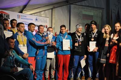 Anthony Chalençon, coupe du monde en ski de fond et biathlon