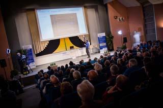 Conférence sur les ondes gravitationnelles à l'Université Savoie Mont Blanc - © Université Savoie Mont Blanc