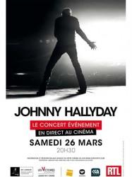 Johnny Hallyday, Le concert événement en direct au cinéma