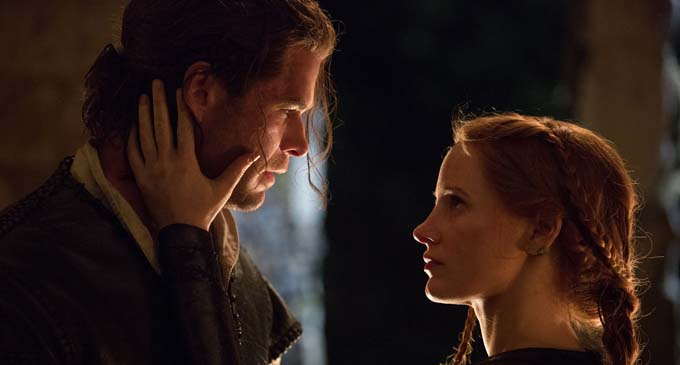 Chris Hemsworth et Jessica Chastain - © Universal Pictures International France