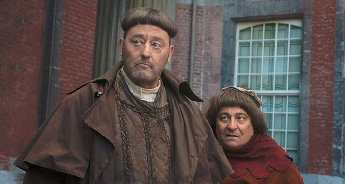 Christian Clavier et Jean Reno - © Gaumont - Ouille Productions - TF1 Films Production - Nexus Factory - Okko Production