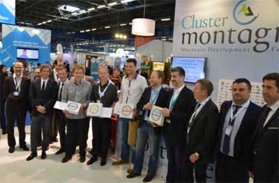 Lauréats des Trophées du Cluster Montagne 2016