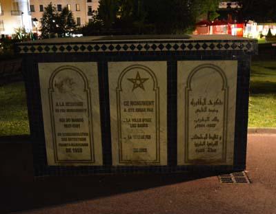 Monument marocain à Aix-les-Bains - © Sergio Palumbo - 123 Savoie