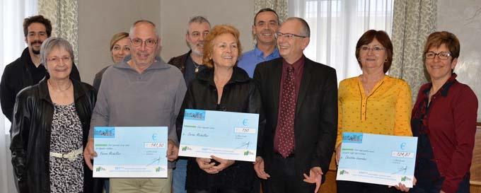 Une cérémonie officielle en présence de monsieur le maire a été organisée pour la remise symbolique de cette 200ème subvention