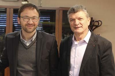 Patrick Mignola et Bernard Thévenet