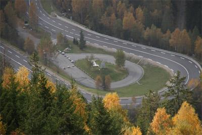 Rampe d'accès au Tunnel du Mont-Blanc - © ATMB