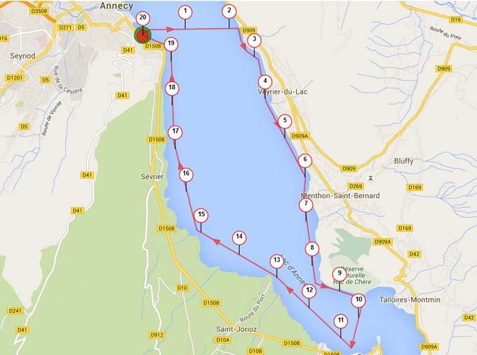 Annecy - Fat race-20 km