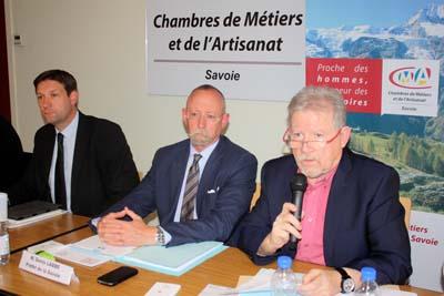 Fabrice Pannekoucke, Denis Labbé et Jacques Berruet - © GJ