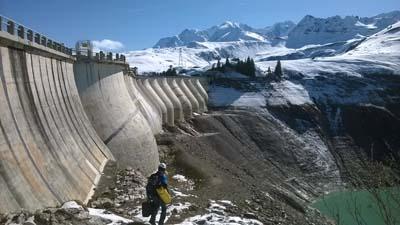 Barrage de la La Girotte - © EDF Droits reserves