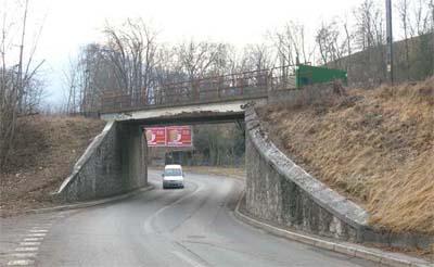 Pont ferroviaire Saint-Charles à Cognin