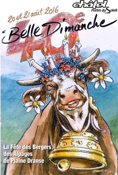 Affiche Belle Dimanche