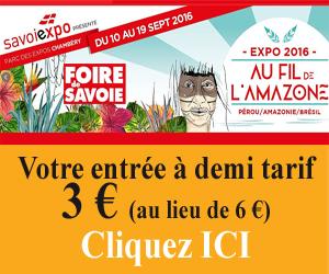 Foire de Savoie édition 2016 - 300 X 250