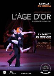 L'Âge d'or (Bolchoï - Pathé Live)