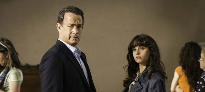Tom Hanks et Felicity Jones - © Sony Pictures Releasing GmbH